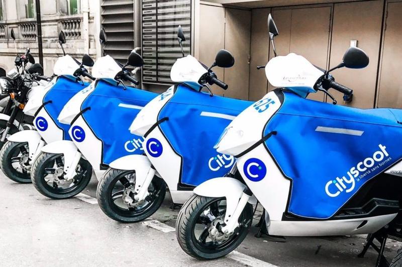 cityscoot paris e-moped