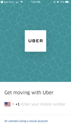 uber sign in help