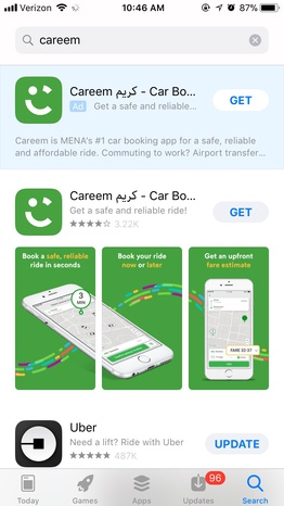 sign up for careem