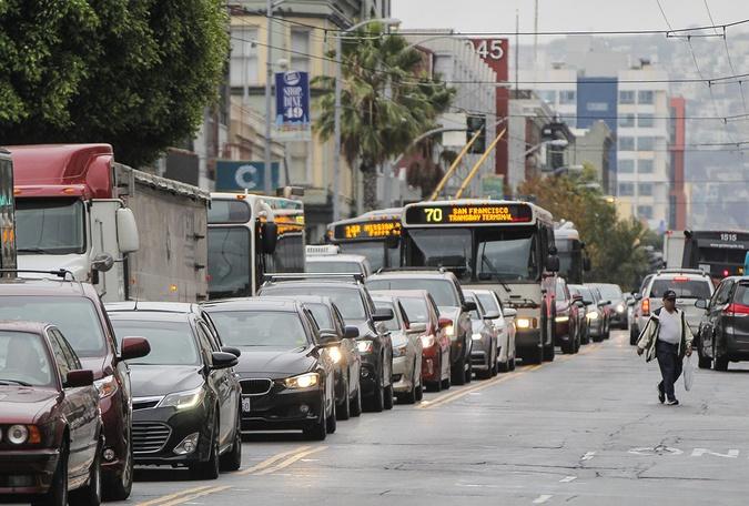 uber lyft traffic congestion