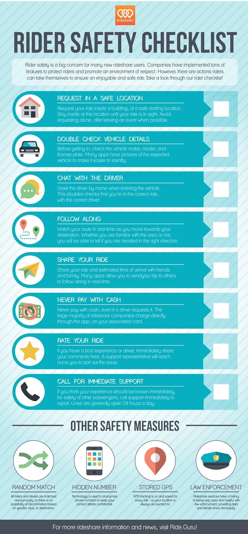 Rider Safety Infographic