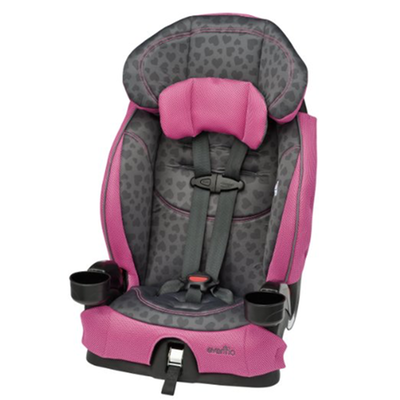 best forward facing travel car seat evenflo-chase