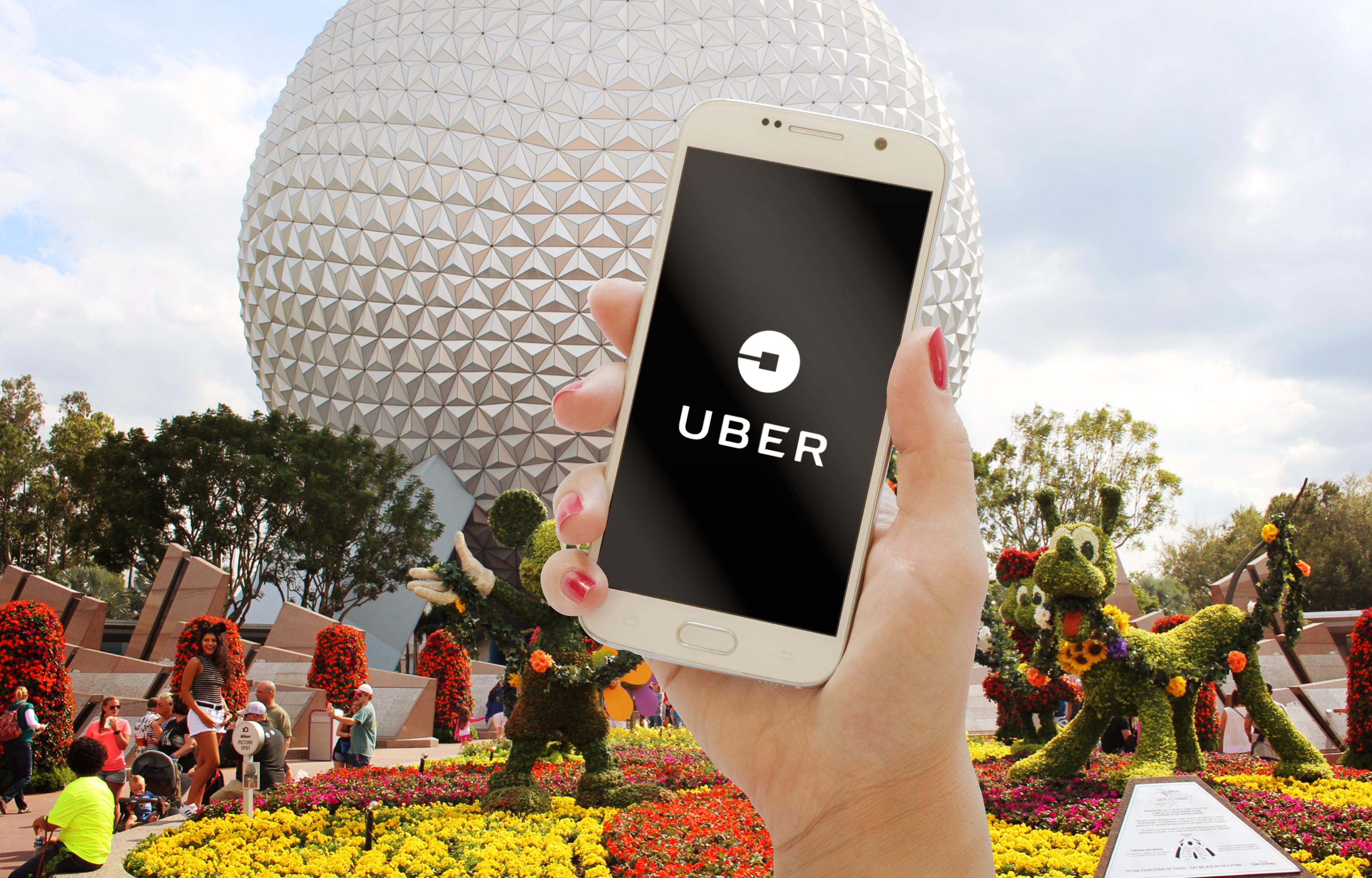 Uber and Lyft at Walt Disney World and Universal; A Complete Guide 2019