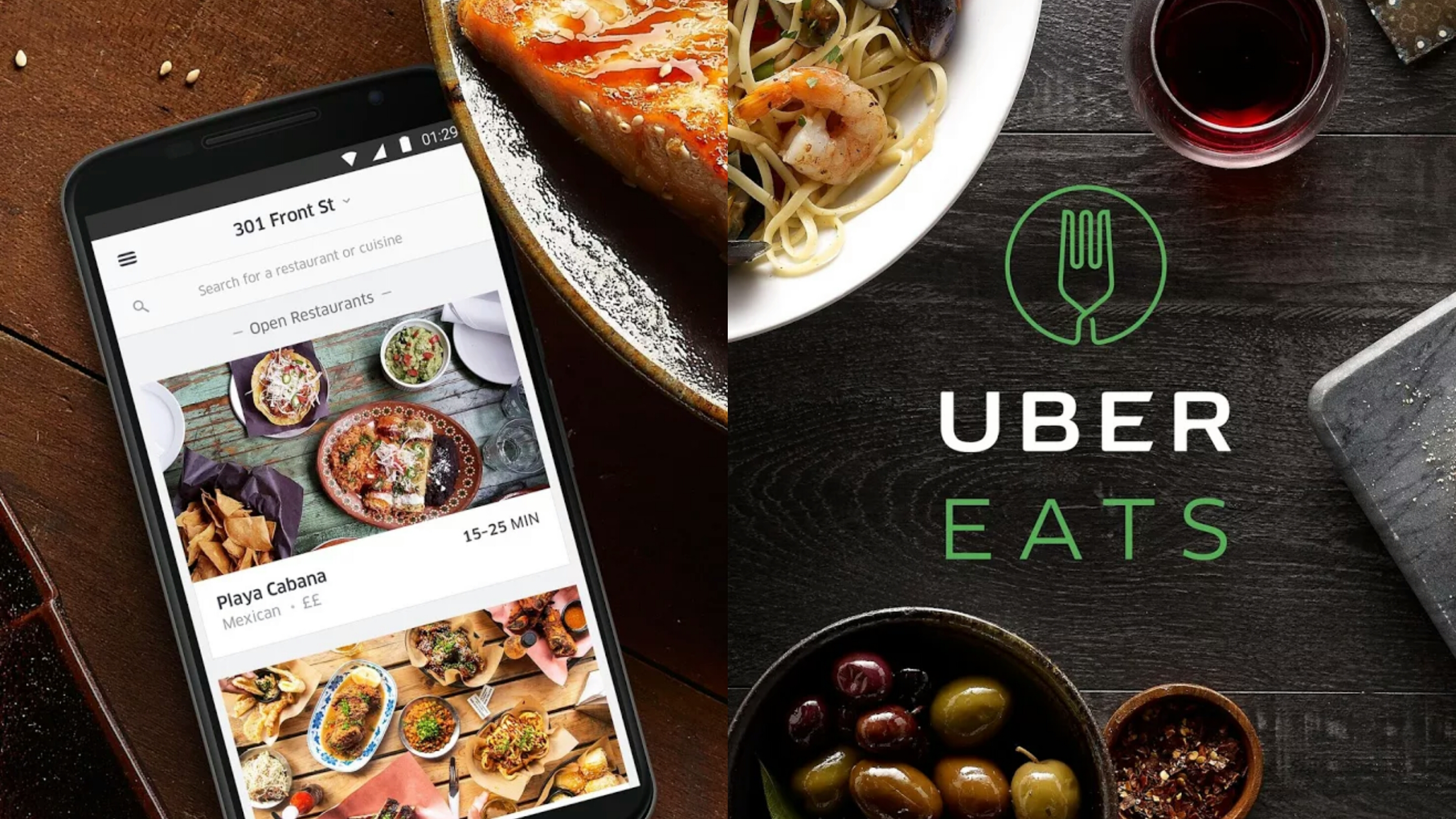 Uber Eats in San Francisco