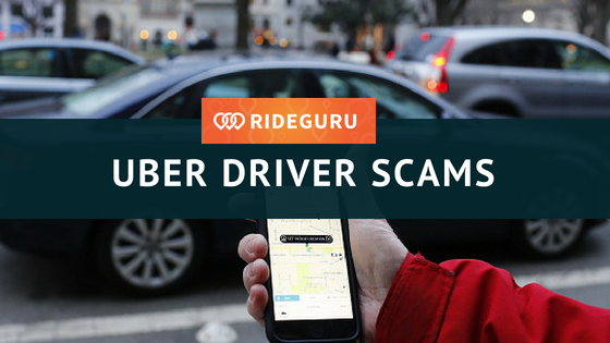 uber driver scams